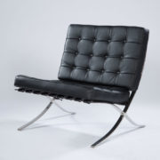 28_Black Barcelona Chair