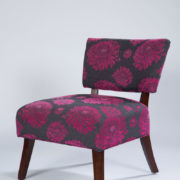 32_Pink - Grey Chair