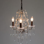 56_Crystal chandelier