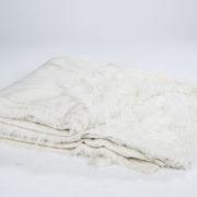 66_White Fur Rug
