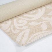 71_Ivory Scroll Rug